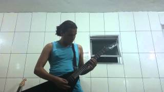 Napalm Death - Vision Conquest. Cover Guitar.