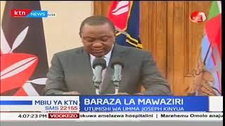 Mbiu ya Ktn full bulletin 2018/01/05-Rais Uhuru Kenyatta ataangaza baraza la mawaziri