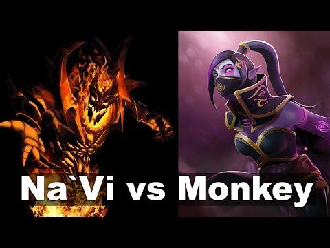 Dendi vs Miracle- NAVI vs Monkey Business Dota 2