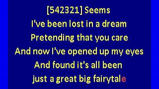 Pointer Sisters  - Fairytale (karaoke)