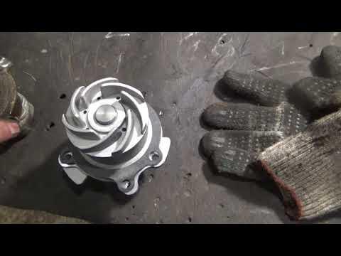 Как поменять помпу на ваз 2112 16 клапанов