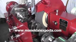 """Manek - Crankshaft Grinder - 1500 mm (60"""") - Model: H-25"""