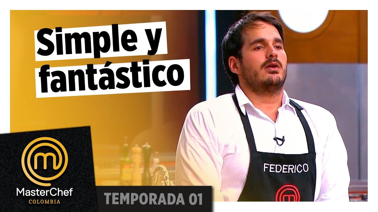 Un plato sencillo hecho a la perfección | MEJOR PLATO | TEMPORADA 1 | MASTERCHEF COLOMBIA