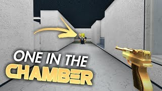 ONE IN THE CHAMBER 1v1 CHALLENGE! (Roblox MM2)