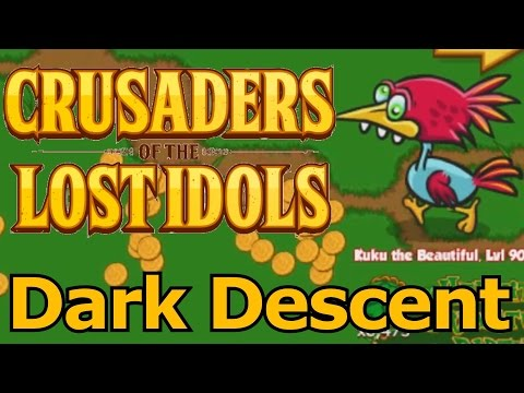 Lets Play Crusaders Of The Lost Idols 27 - Descent Into Darkness