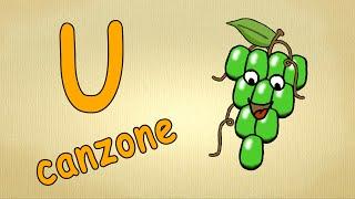 Alfabeto italiano per bambini canzone - La lettera U canzone / Impara canzoni l'italiano per bambini