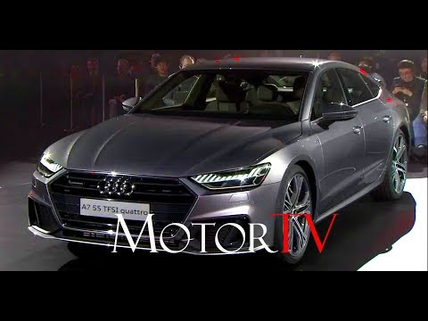 THE ALL NEW 2018 AUDI A7 l WORLD REVEAL FROM INGOLSTADT (ENG)