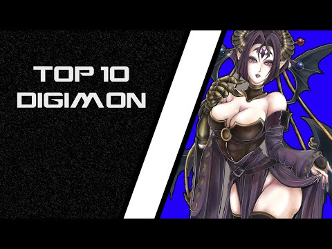 Digimon Story Cyber Sleuth - Top 10 Digimon [COG INCORPORATED]
