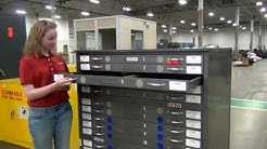 Used Industrial Cabinets, Blueprint, Parts, Supply, Vidmar types