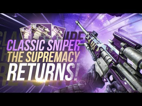 The Supremacy Classic Sniper Returns! Destiny 2: Forsaken Sniper Review!