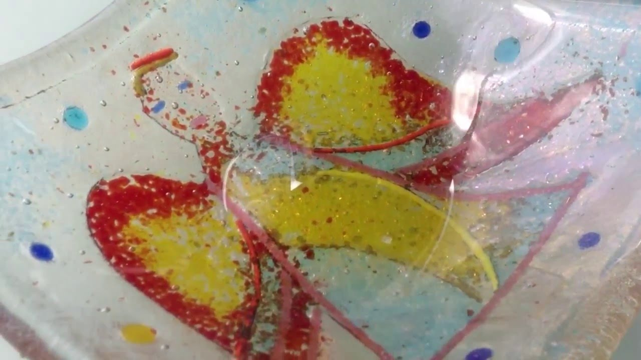 An Angel Created in Fused Glass - Craft Workshop at the Devon Guild ...