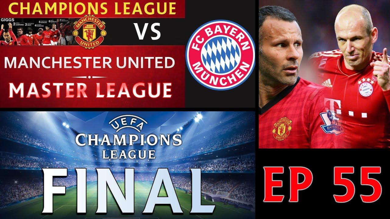 [TTB] PES 2014 - ML Series - Ep 55 - Bayern Munich Vs Manchester United - Champions League Final ...