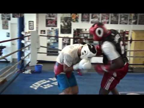 Sergey Kovalev sparing Guillermo Jones