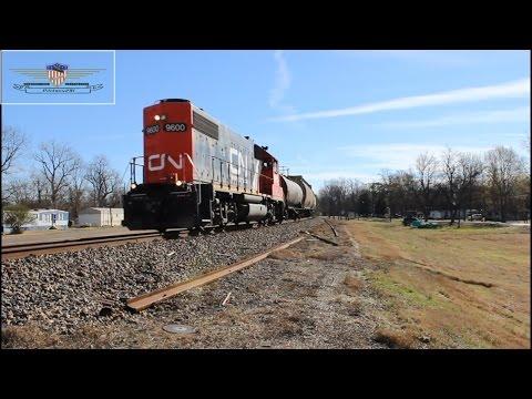 Northbound CN Greenwood Local L536-Glendora, Mississippi