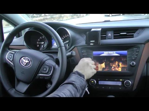 toyota touch 2 interface youtube. Black Bedroom Furniture Sets. Home Design Ideas