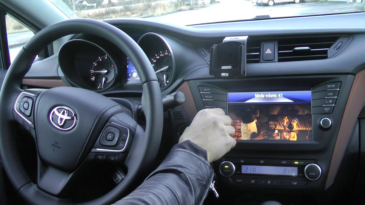Toyota Touch 2 Interface Youtube