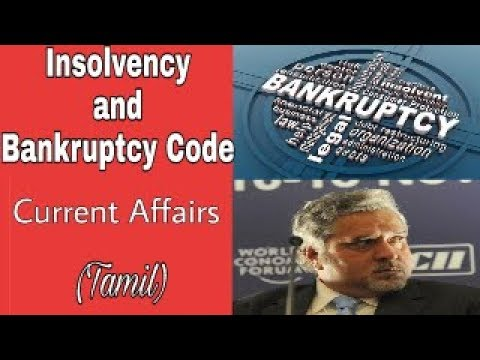Insolvency and Bankruptcy Code Current Affairs in Tamil for UPSC