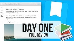 Day One Journal App Review | all features, pricing and opinions