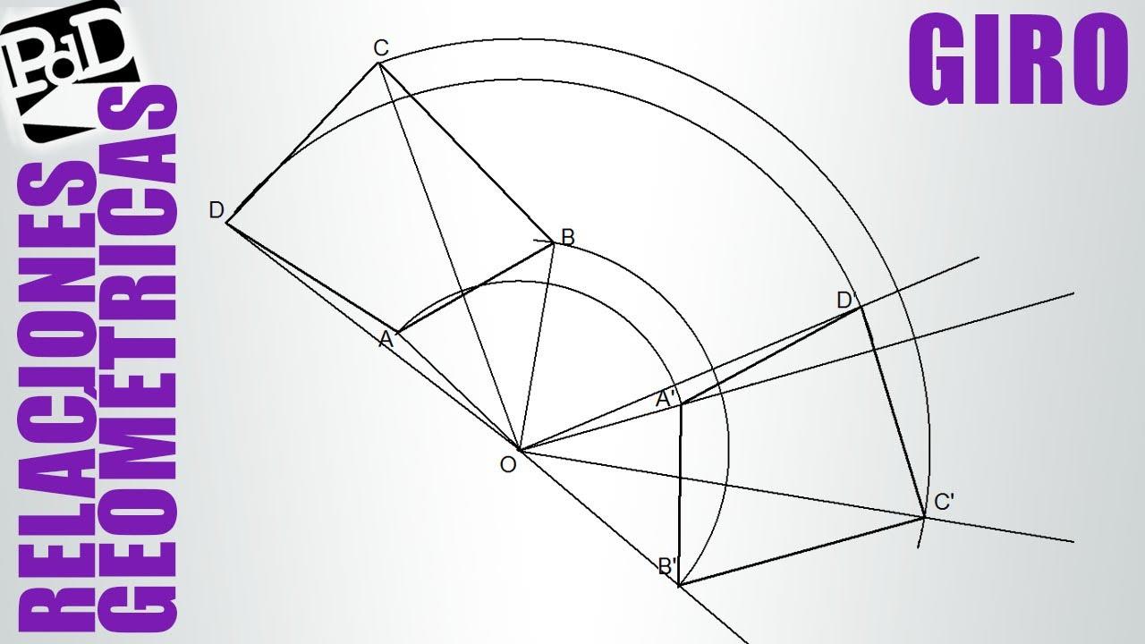 Girar un pol gono en sentido dextr giro 120 en sentido - Como instalar una bisagra de 180 grados ...