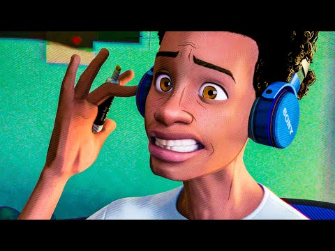 Miles sings Post Malone Scene - SPIDER-MAN: INTO THE SPIDER-VERSE (2018) Movie Clip