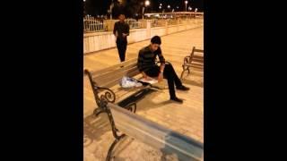 تفجير احد الطلاب وهو يدرس في العراق +18 تحشيش فول عراقي
