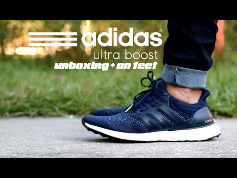 Adidas Ultra Boost Collegiate Navy Unboxing + On Feet YouTube