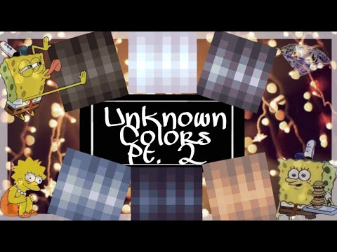 Pixel Gun 3D   How To Get Unknown Colors ᴘᴛ. 2 🌈