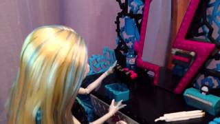 Stop motion  Monster high   Утро Лагуны Блю + 3k