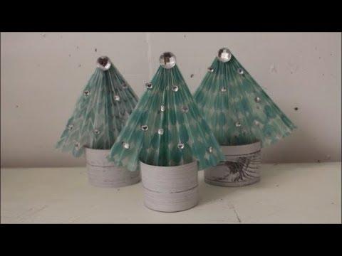 diy tannenb ume aus papier und klopapierrollen basteln weihnachten deko ideen f r kinder