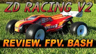 ZD RACING V2 RTR 1:8TH Brushless Truggy 08423   Hardcore Bash, FPV, & Review