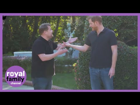 What Prince Harry Told James Corden