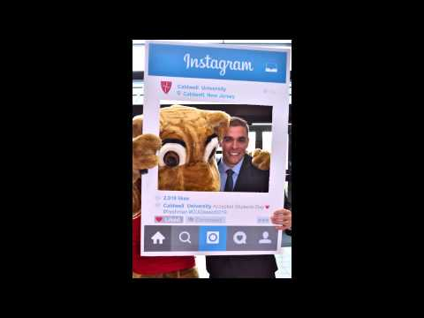 Accepted Students Day - Instagram Poster Board