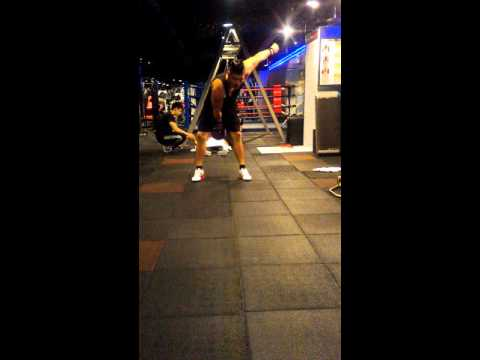 IKFF Level one test correct mistakes(Taiwan,Taipei,World gym personal trainer) YU-CHING,CHEN