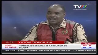 Ciclone Tropical Idai: Tempestade desloca-se à província de Manica