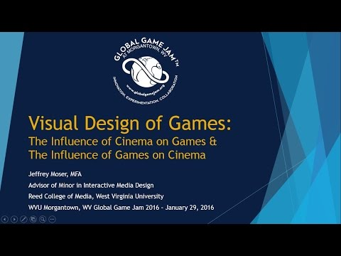 Visual Design of Games - Prof Jeffrey Moser