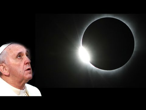 With eclipse near, Pope Francis warns against astrology and fortune telling HD