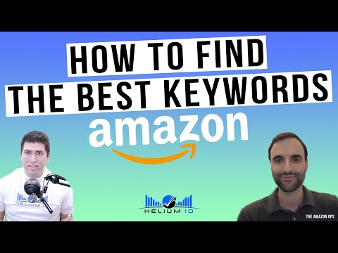 How To Get the BEST Keywords For Amazon FBA! Ultimate Keyword Research Tips!