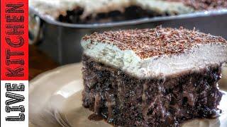 """Το γλυκό της γιορτής μου!!! """"Σοκολατένια απόλαυση""""Αmazing chocolate cake for my name day"""