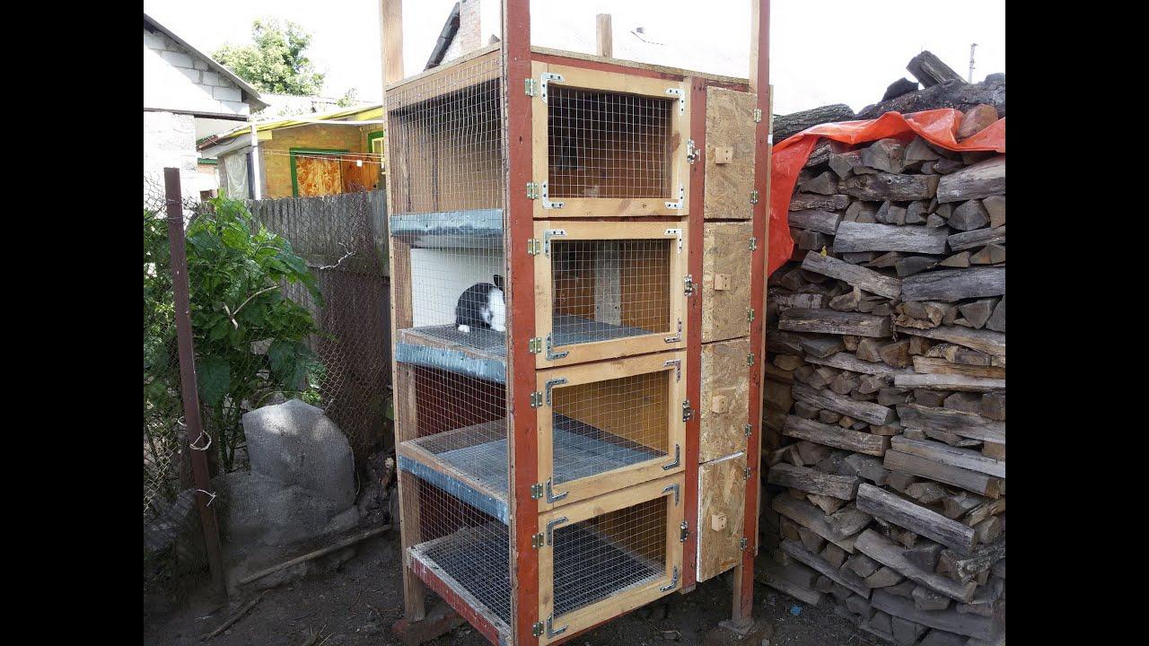 Клетки для кроликов с маточниками своими руками фото 310