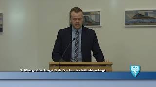 Fundur Bæjarstjórnar 17.október 2017