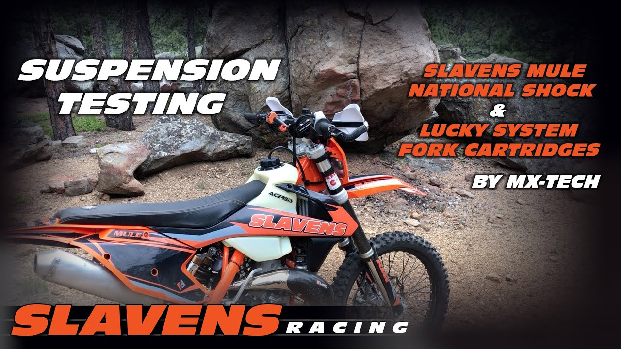 Lucky Dual Spring Conversion for WP AER Forks by MX Tech