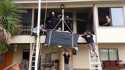 How to Hoist furniture to the second floor, Flagler Movers 386-446-0014
