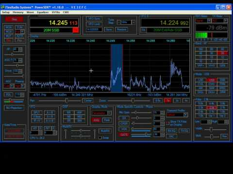 Flex Radio SDR 1K Demonstration