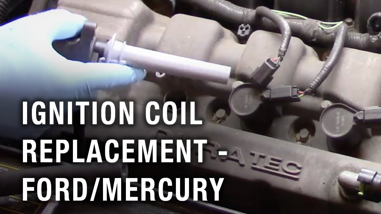 Ignition Coil Replacement Ford Taurus Mercury Montego Youtube 2005 Spark Plug Wire Diagram
