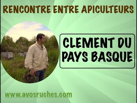 Rencontre entre apiculteurs , Clément, de Biarritz