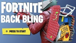 Fortnite Cosplay : Rust-Lord Backpack Bling