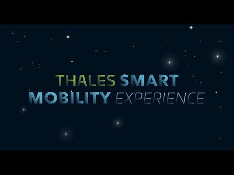 Thales Smart Mobility Experience: How smart mobility can be?
