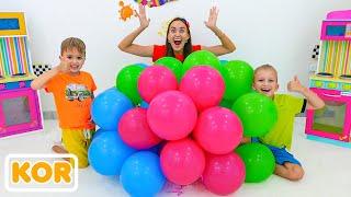 블라드와 니키와 아이를위한 가장 인기있는 비디오의 컬렉션