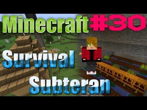 Minecraft S04 : Survival Subteran - Episodul 30 Trolling + Download !?