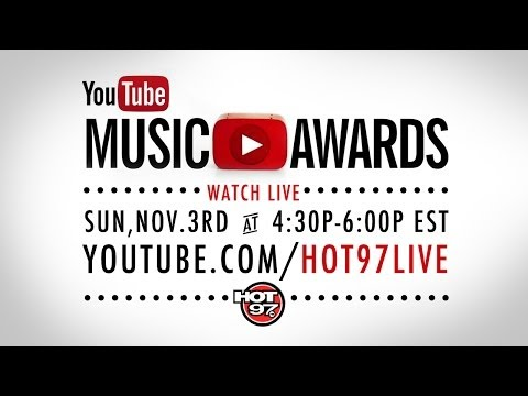YouTube Music Awards Red Carpet with HOT 97